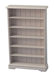 White Bookcase 6 Shelf
