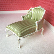 Detailed Lime Green Lounge Chair