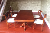 Detailed Carved Table  & Chairs