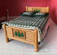 Double Bed Forest Style