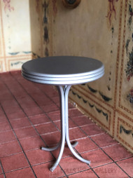 Tall Silver Bar Table