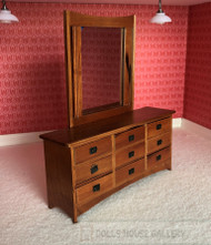 Large Dressing Table W/ Nine Drawers