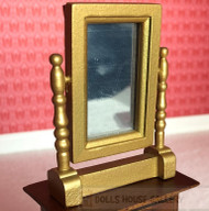 Golden Swivel Mirror