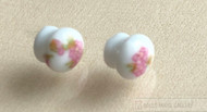 Two Rose Design Knobs