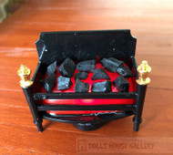 Flickering Coal Fireplace LED