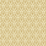 Gold & Cream Damask Wallpaper