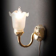 Single Tulip Wall Lamp
