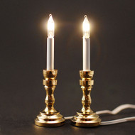 Pair Of 12 Volt Candle Sticks