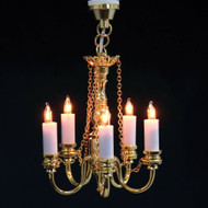 5 Up-arm Candle Light Chandelier