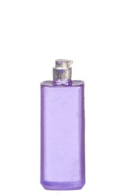 Purple Perfume / Soap Bottle