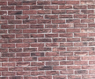 A3 Embossed Weathered Brick Stretcher Bond
