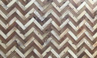 A3 Two Tone Parquet Flooring Card