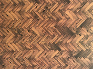 A3 Dark Parquet Flooring Card