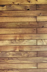 Light Pine Old Floorboards Card