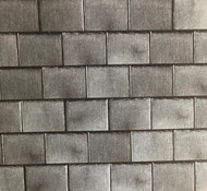 A3 Embossed Dark Roof Slates