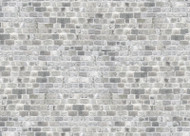 Farmhouse Grey Brick Paper