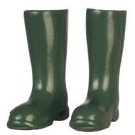 Green Wellington Boots