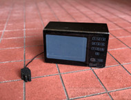 Black Microwave Oven With Lead