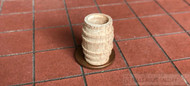 24th Scale Wooden Barrel