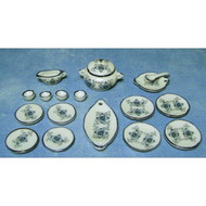 18 Piece Lotus Diner Set
