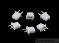 24th Scale Male Plugs Six Pack