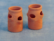 Two Strawberry Pots