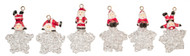 Santa Claus Christmas Tree Ornaments