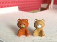 2 Toy Teddy Bears
