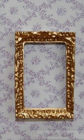 One Small Ornate Golden Picture Frame