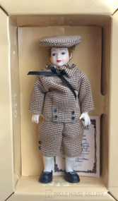 Heidi Ott Boy Brown Outfit & Hat