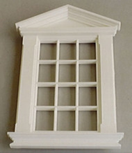 Georgian 12 Pane Peaked Window