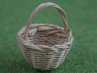 5 Small Wicker Shopping Baskets