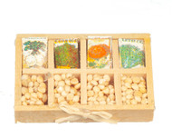 Seed Packets On Tray