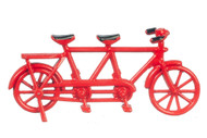 Mini Red Toy Tandem Bicycle