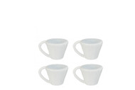 White Cups 4 Pack