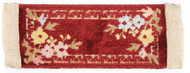 Peking Maroon Hall Rug, Made In Belgium