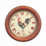 Farm House Cockerel Wall Clock