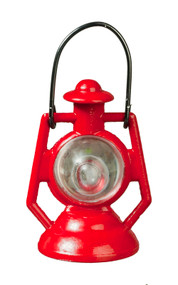Red Kerosene Lamp / Lantern