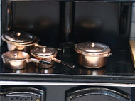 Pan Set Copper