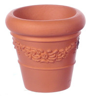 Dolls House Garden Pot / Planter Terracotta