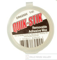 Quik-Stik Removable Adhesive Wax 1oz.