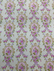 Cream Victorian Cameo Wallpaper