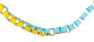 Blue & Yellow Paper Chain