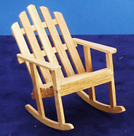 Adirondack Rocker Chair Oak