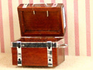 Opening Wooden Chest