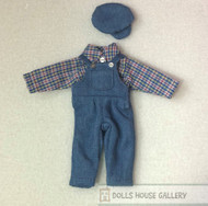 Heidi Ott Teenagers Clothes, Dungaree, Shirt & Hat