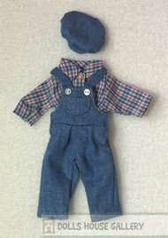 Heidi Ott Childs Clothes, Dungaree, Shirt & Hat