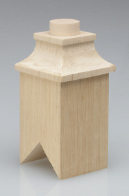 Large Wooden Square Chimney