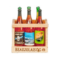 Wooden Wine Crate With 6 Bottles Of Wine