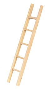"6"" Ladder Bare Wood"